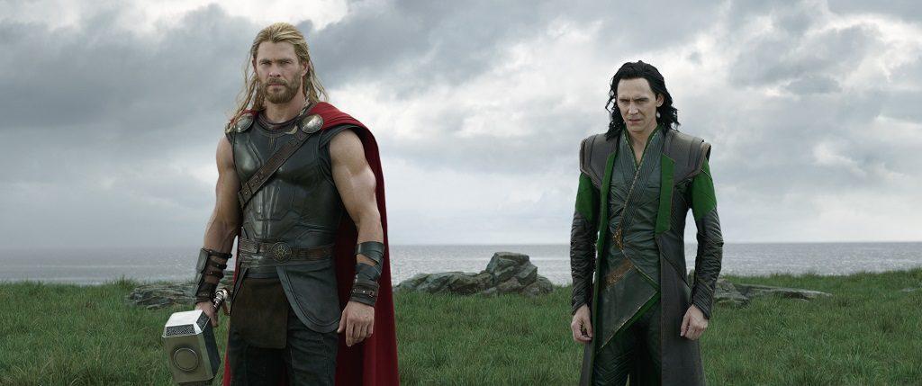Loki and Thor Ragnarok