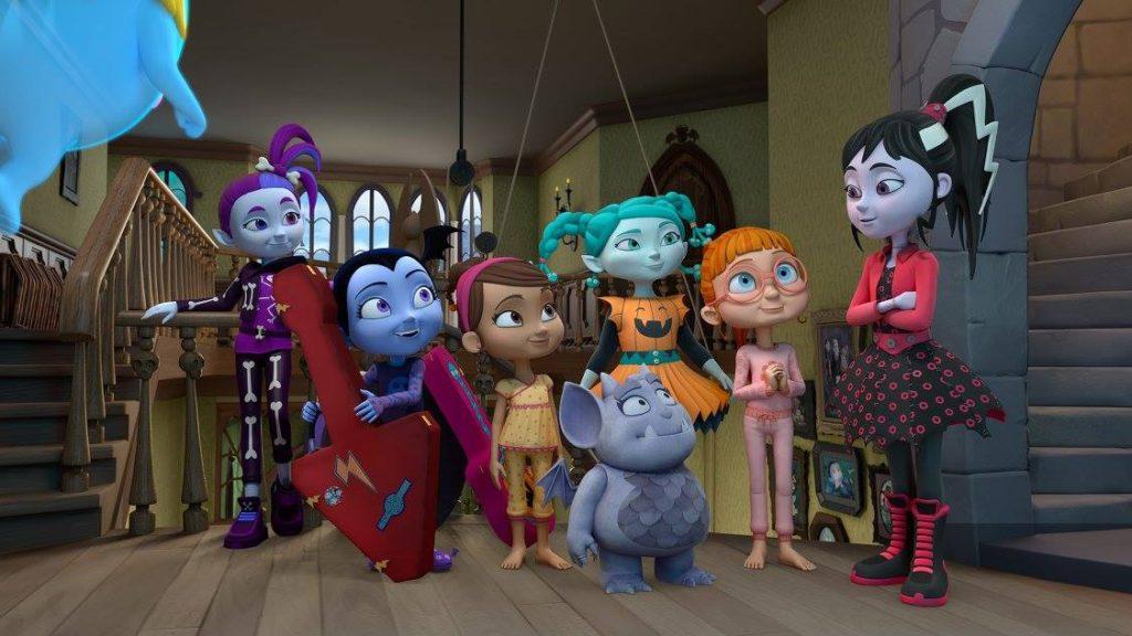 Disney Junior S Vampirina Is All About Family Girl Power