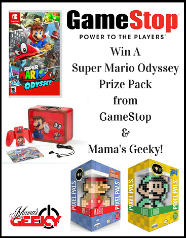 Win A Super Mario Odyssey Prize Pack