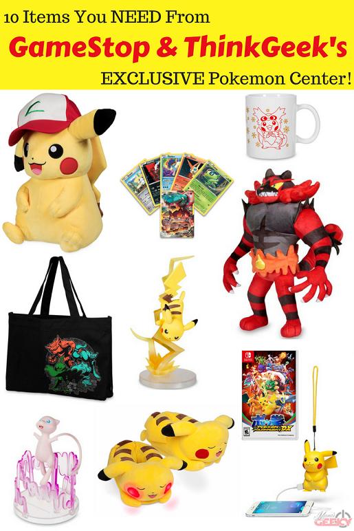 10 Pokemon Items You NEED GameStop ThinkGeek