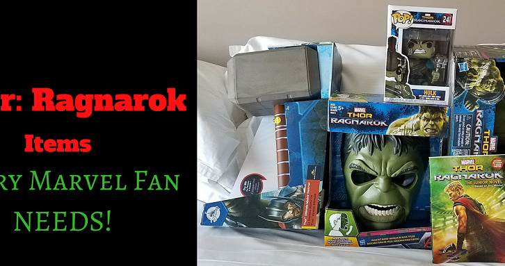 10 Thor: Ragnarok Items That Every Marvel Fan Needs! _ #ThorRagnarokEvent #ThorRagnarok