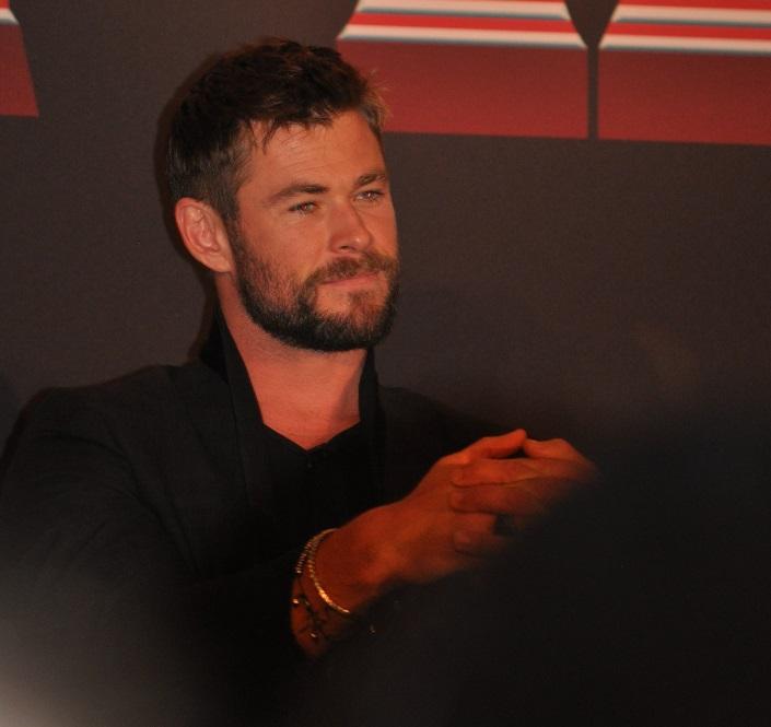 Chris Hemsworth Thor Ragnarok Press Junket