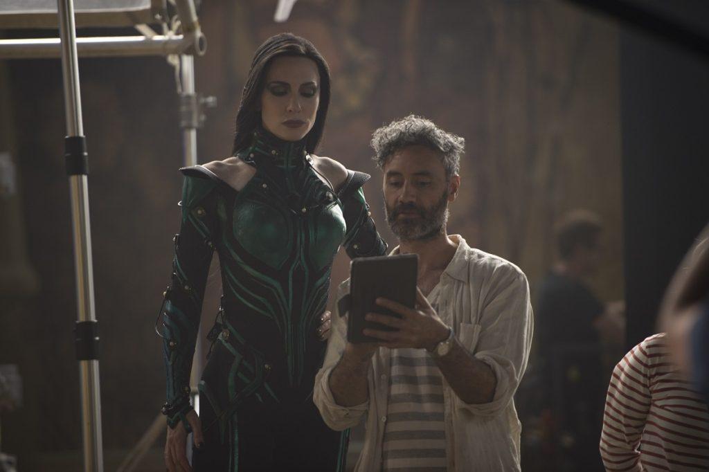Taika Waititi Cate Blanchett Thor Ragnarok