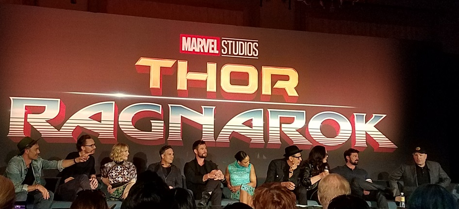 Thor Ragnarok Press Junket 2