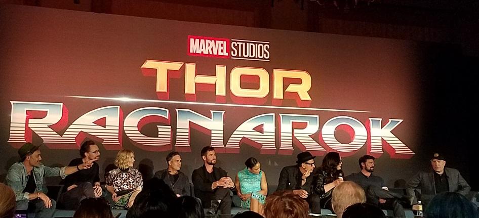 Thor Ragnarok Press Junket 2