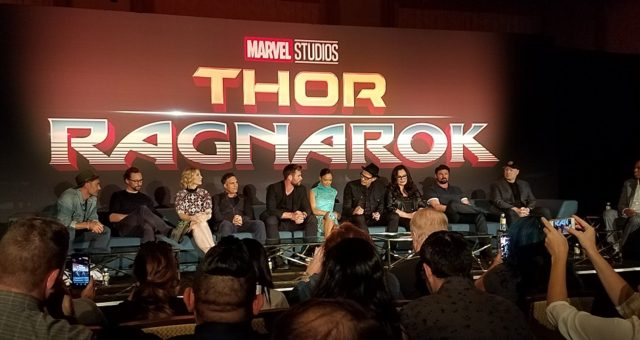 Thor Ragnarok Press Junket