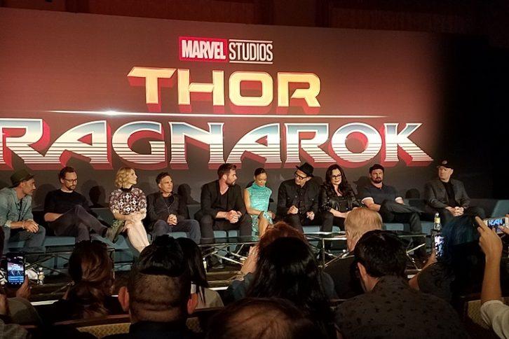 Thor Ragnarok Press Junket