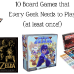 10 Board Games that Every Geek Needs to Play (at least once!) | #Gaming #BoardGames