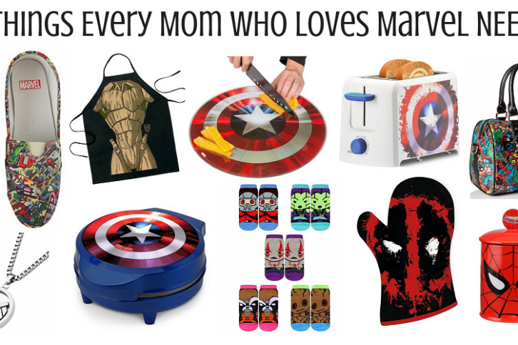 10 Things Every Mom Who Loves Marvel NEEDS!