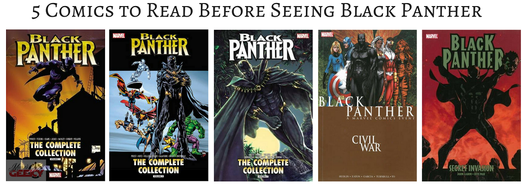 5 Comics to Read Before Seeing Black Panther