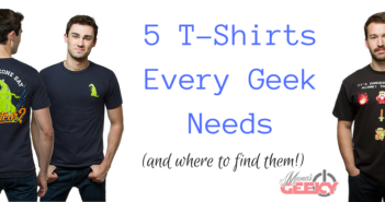 5 T-Shirts Every Geek Needs