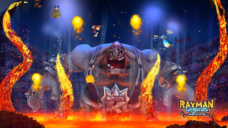 Rayman Legends Boss Battle