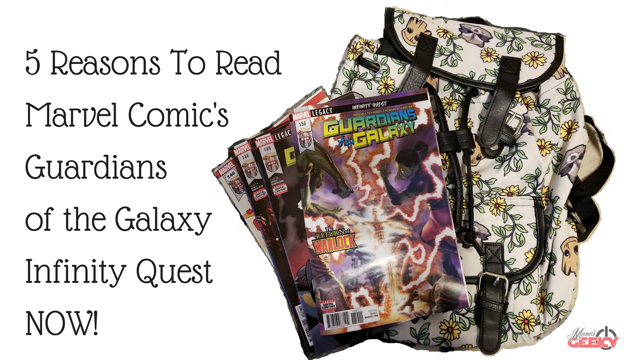 5 Reasons To Read Marvel Comic's Guardians of the Galaxy ...