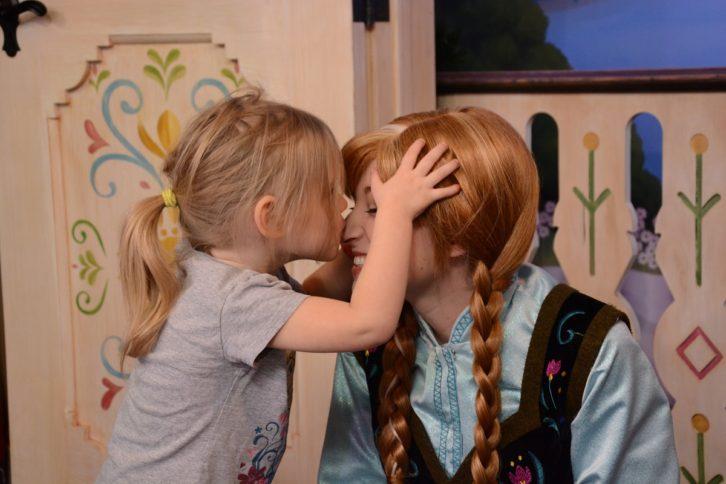 Disney Anna Meet and Greet