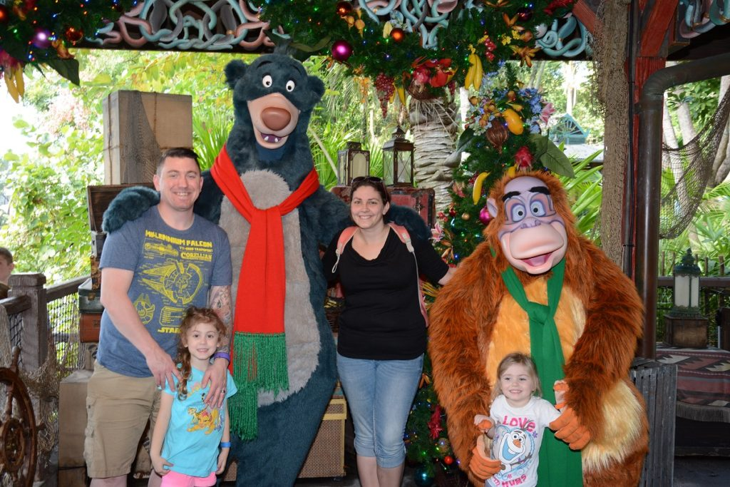 Disney Baloo and King Louie Meet and Greet