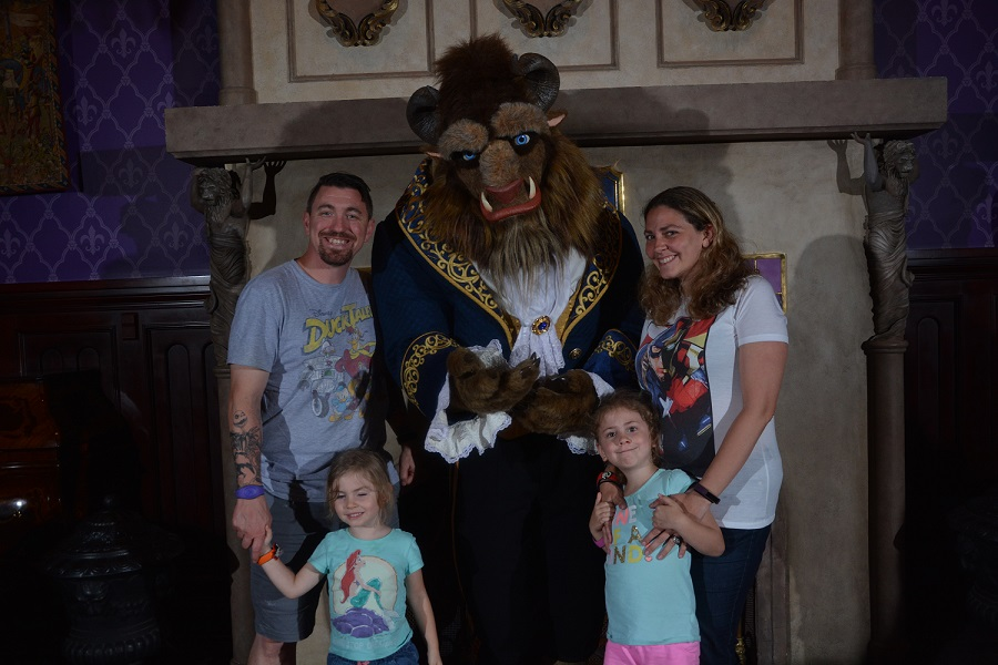 Disney Beast Meet and Greet