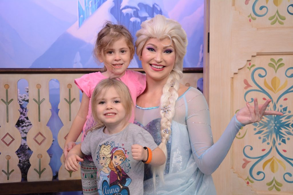 Disney Frozen Meet and Greet