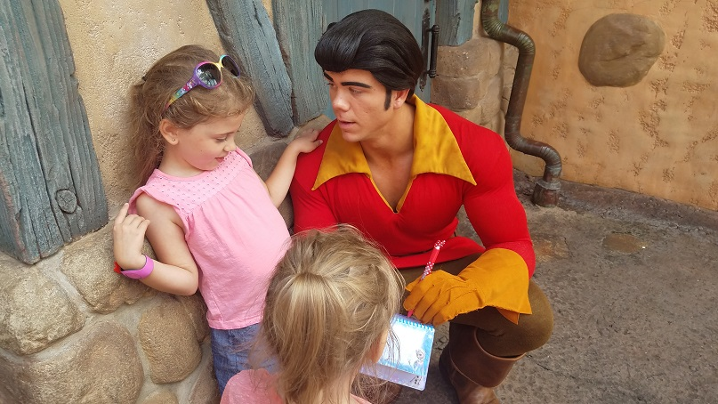 Disney Gaston Meet and Greet