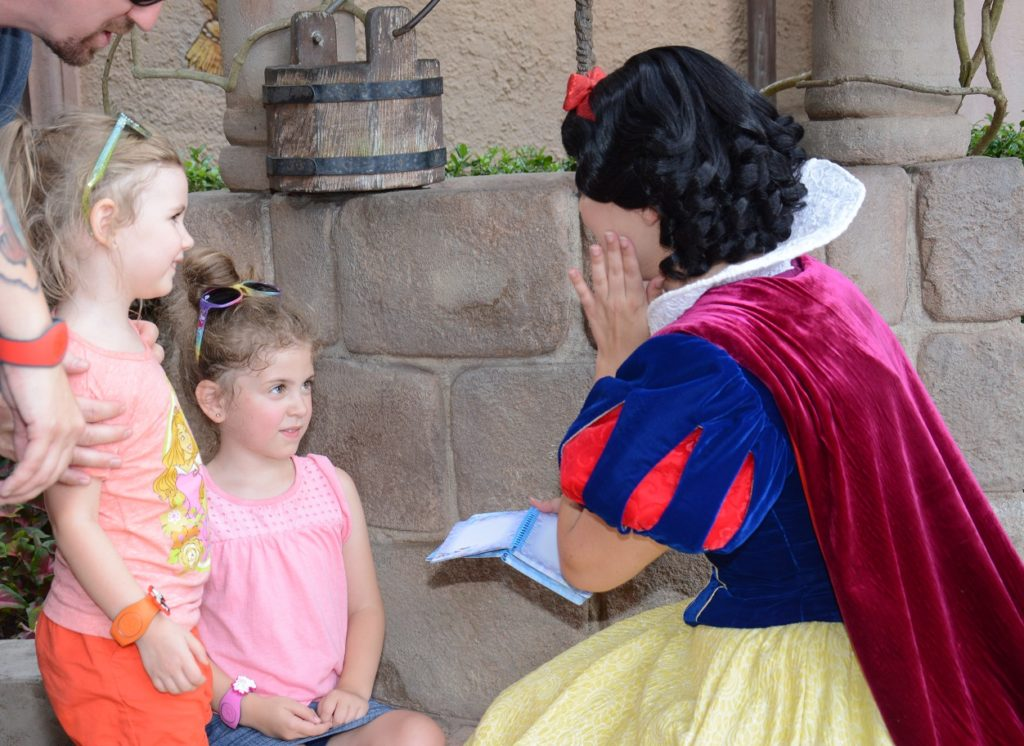 Disney Snow White Meet and Greet