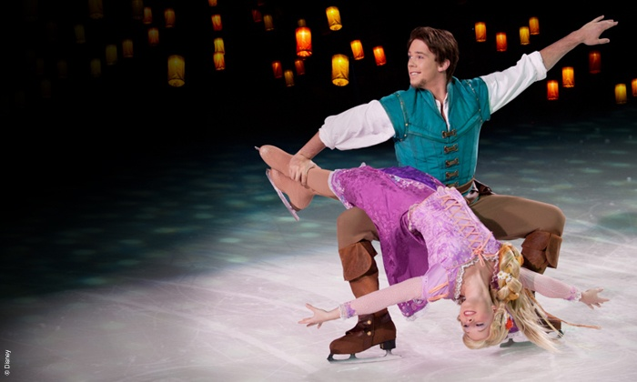 Disney on Ice Flynn Rapunzel
