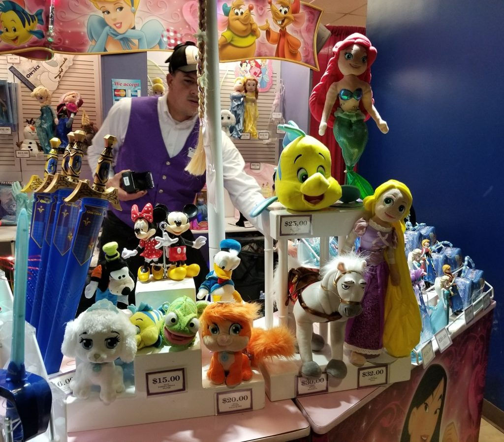 Disney on Ice Toys and Stuffed Animals