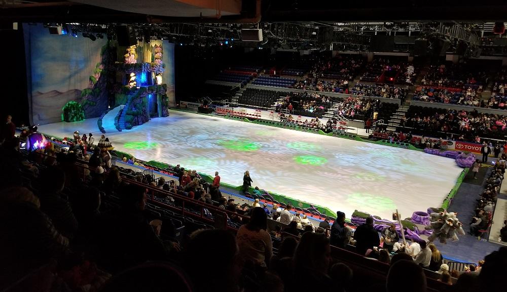 disney on ice stage