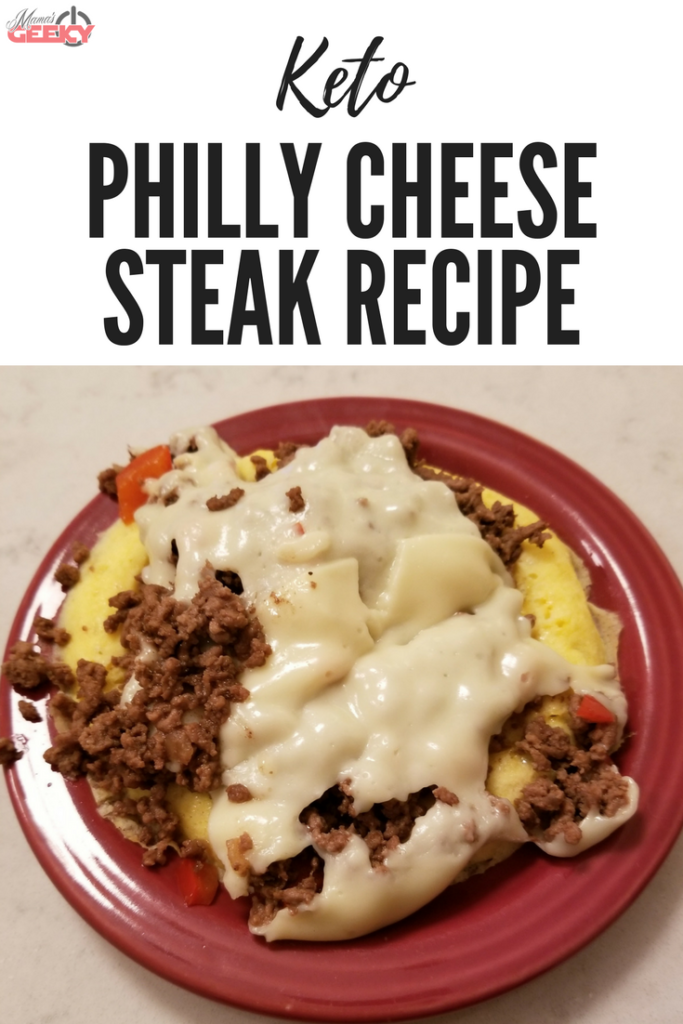 Keto Philly Cheese Steak