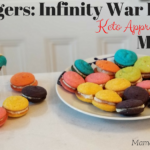 Avengers: Infinity War Inspired Keto Approved Macaron Recipe with Video! | #InfinityWar #Keto