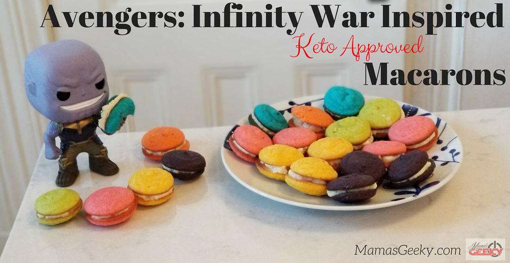 Avengers Infinity Stones Macarons Keto