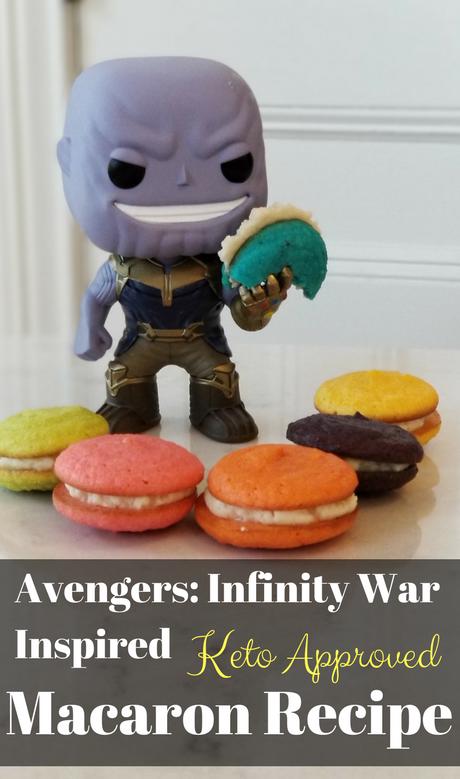 Avengers Infinity War Macaron