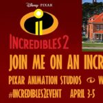 UPDATED: I Am Heading To Pixar To Check Out Incredibles 2 + Interview Filmmakers! | #Incredibles2Event #Incredibles2