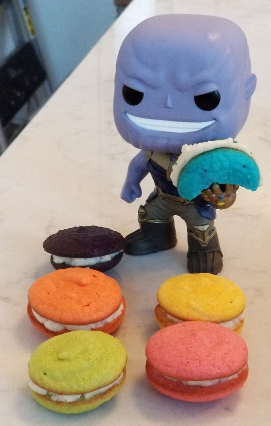Infinity Stone Keto Macaron Recipe