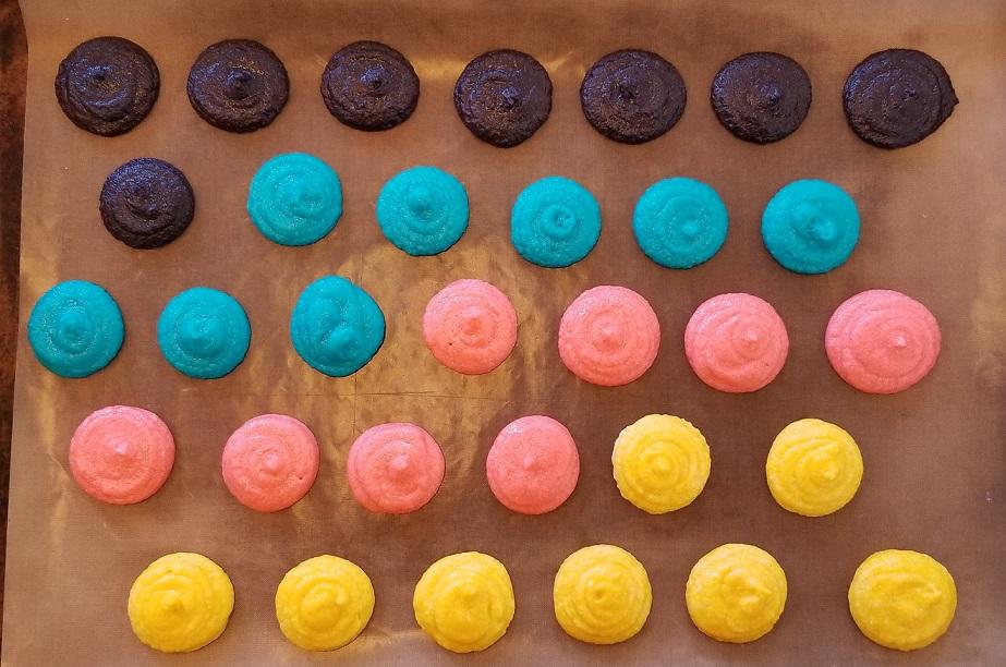 Keto Macaron Pre-Bake