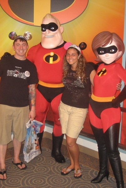 mr and mrs incredible