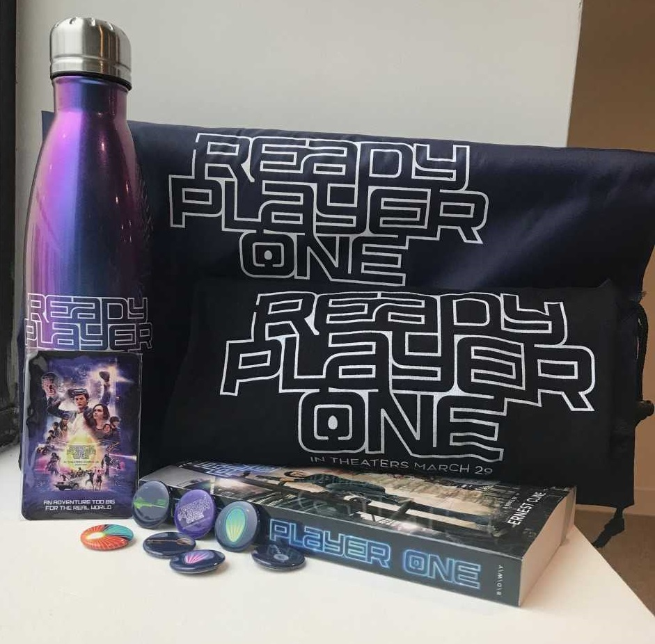 ready player one prize pack including movie tickets