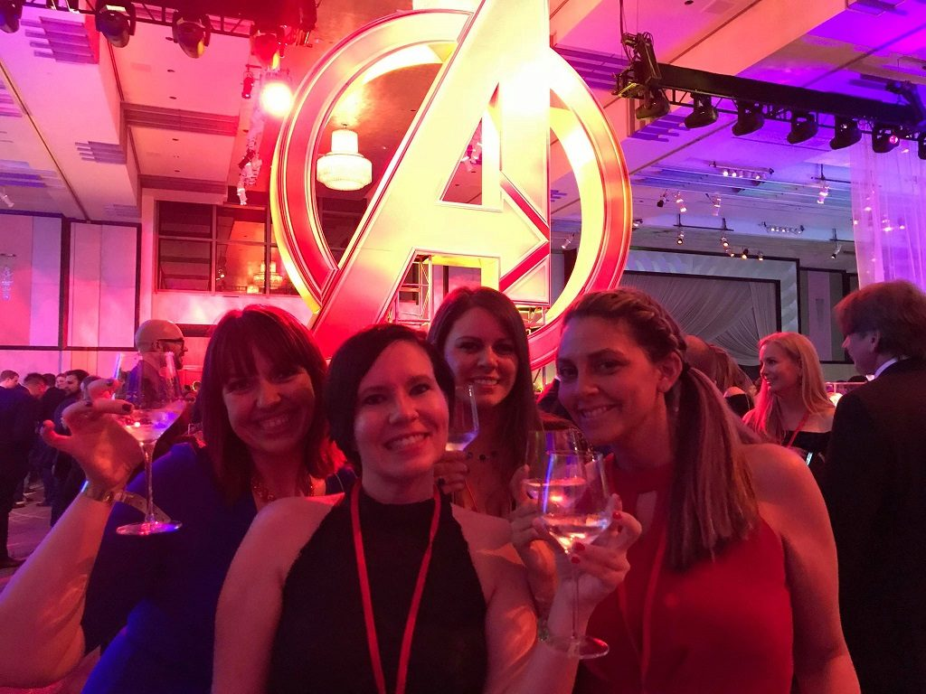 Avengers Infinity War After Party