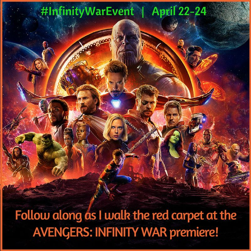 Avengers Infinity War Event Button