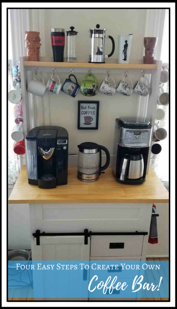 Diy Four Easy Steps To Create Your Own Coffee Bar