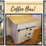 DIY: Four Easy Steps To Create Your Own Coffee Bar! | #Coffee #DIY