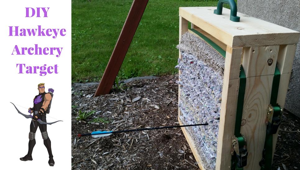 DIY Hawkeye Archery Target