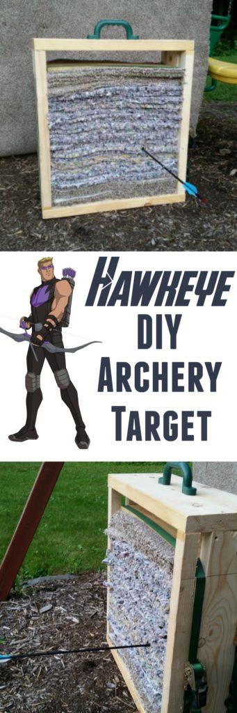 DIY Archery Target Hawkeye