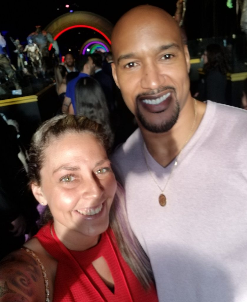Henry Simmons Infinity War Carpet