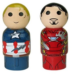 Marvel Pin Mates