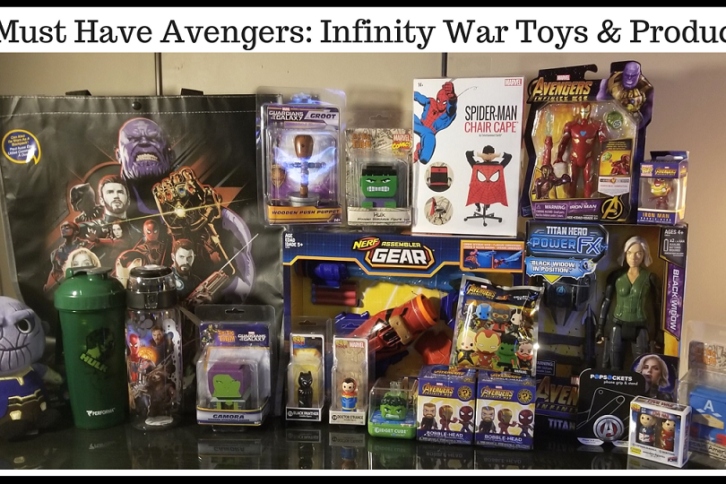 Must Have Avengers Infinity War Products