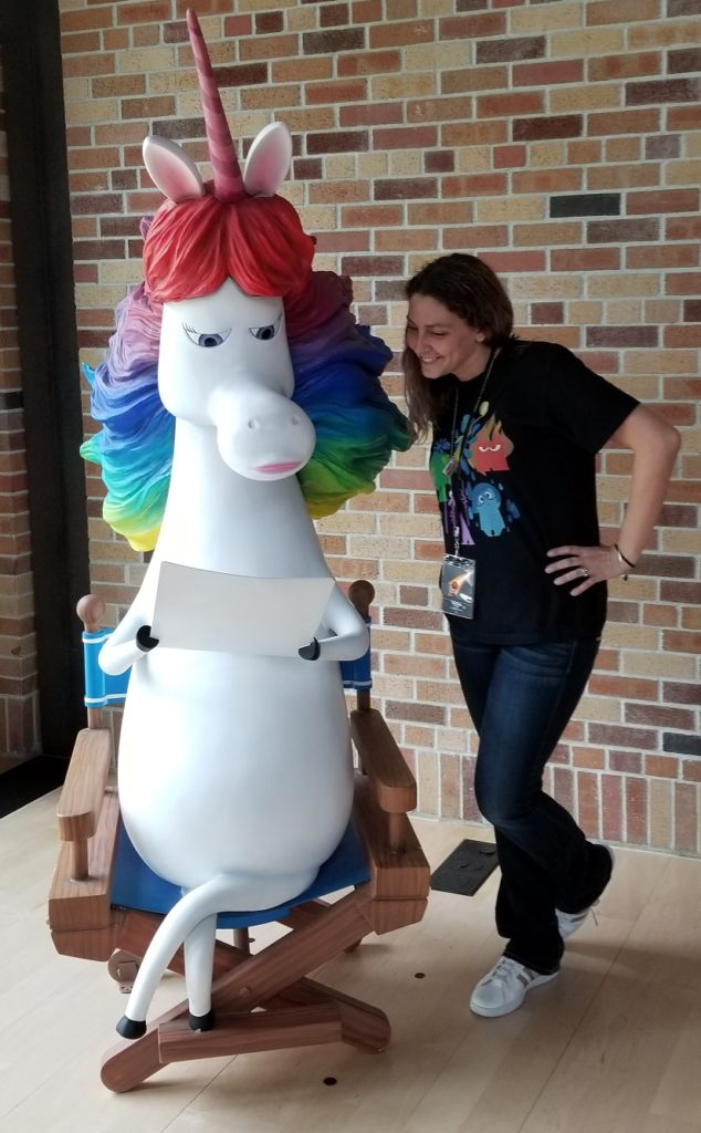 Pixar Rainbow Unicorn Inside Out
