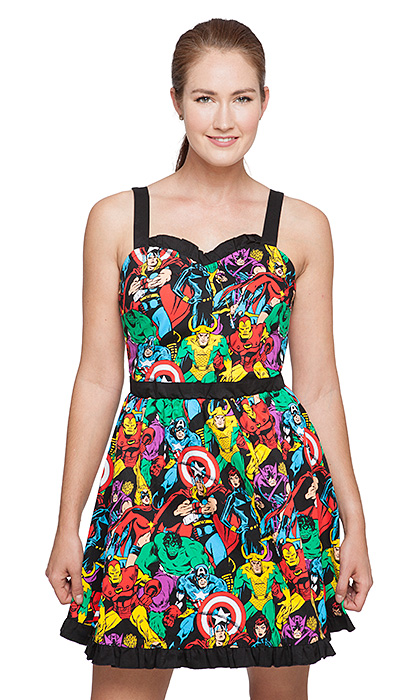 marvel comics dress