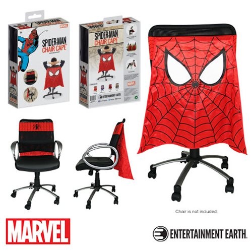 spiderman chair cape