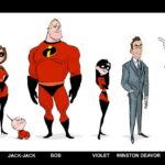 Costuming the Characters of Incredibles 2: Mid-Century Aesthetic & Lots of Hard Work  | #Incredibles2Event