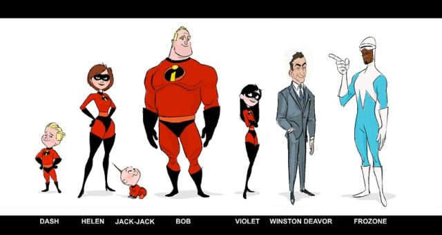 INCREDIBLES 2 Costumes