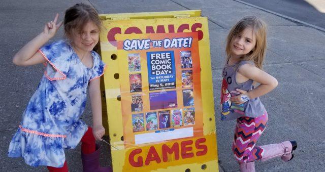 Free Comic Book Day Girls